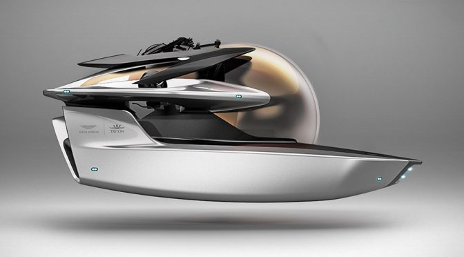 Aston Martin Now Has Boats And It Is Also Going Deep With A Submarine Too