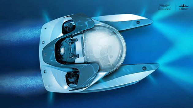 Aston Martin x Triton Personal Submarine