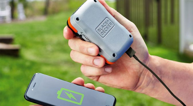BLACK+DECKER GoPak That Powers Tools Also Serves As Portable Battery