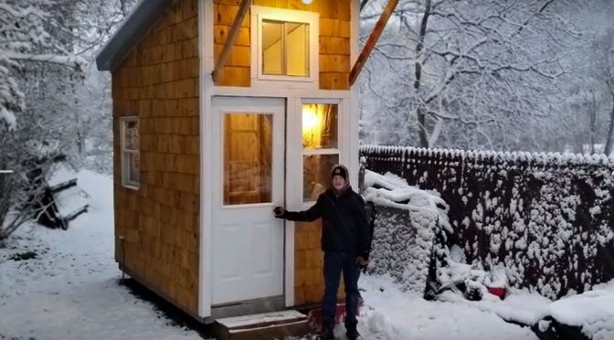 13 Year-Old Built A Tiny House, Makes Me Question My Childhood