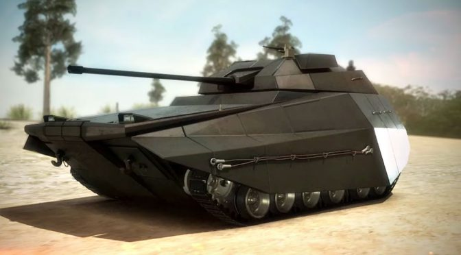 Israel's Next-Gen Tank, Carmel, Needs Just Two Crew To Operate