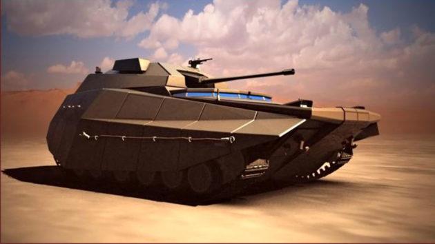 Carmel Is Israel's Next-Gen Tank Platform
