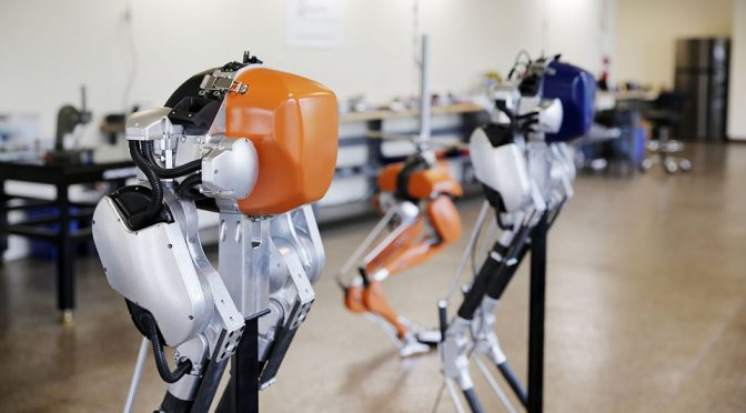 Cassie Is A Torso-less Bipedal Robot That May One Day Deliver Packages To You