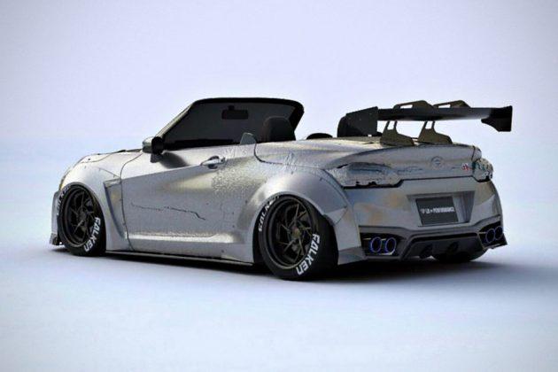 Daihatsu Copen-based Nissan GT-K Roadster