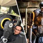 This Awesome K-2SO Cosplay Has An iPad On Its Back For Video Feed
