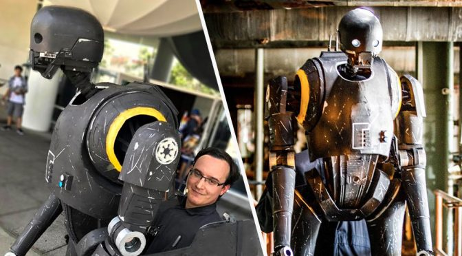 Darren Moser's K-2SO Cosplay Puppet
