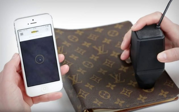 Entrupy Counterfeit Luxury Bag Detector