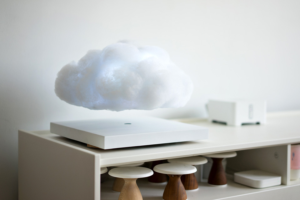 Floating Cloud Lamp by Richard Clarkson image 1