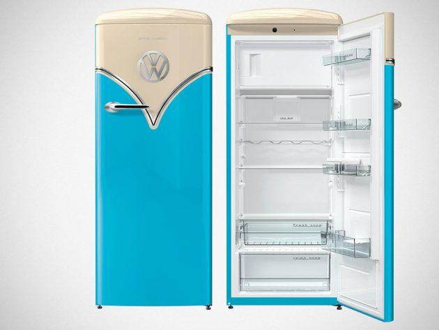 Gorenje Retro VW Bus Freestanding Refrigerator