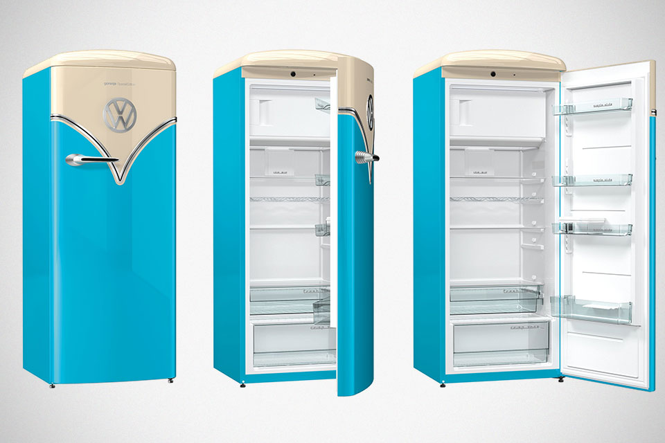 The Vw Bus Lives Again But Now It Will Park In Your Kitchen As A Refrigerator Shouts