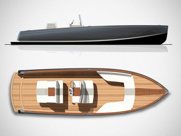 Hinckley Dasher Electric Yacht