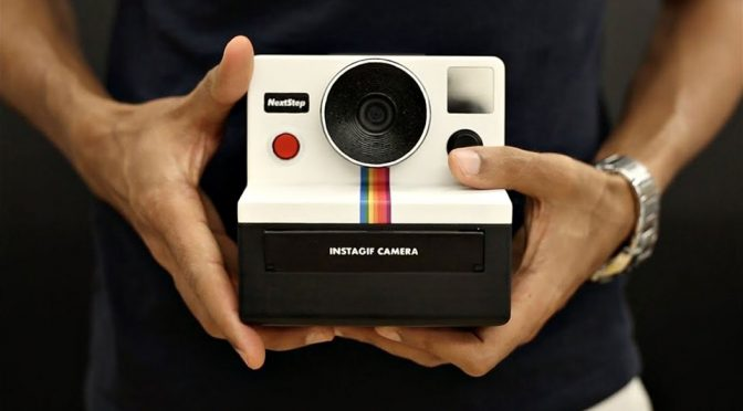 "Amazing DIY ""Polaroid"" Camera Lets You Take Instant Animated GIFs"