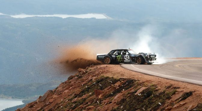 Ken Block Takes On Pikes Peak with Hoonicorn V2