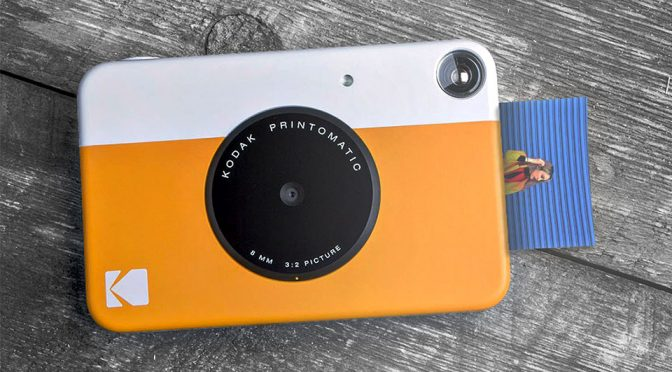 Kodak Printomatic Is A Photo Printer And A Digital Camera Rolled Into One