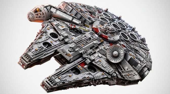 This Is The New LEGO UCS Millennium Falcon, The Biggest LEGO Set Yet