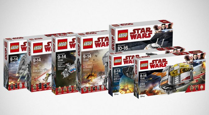 LEGO Star Wars: The Last Jedi Sets
