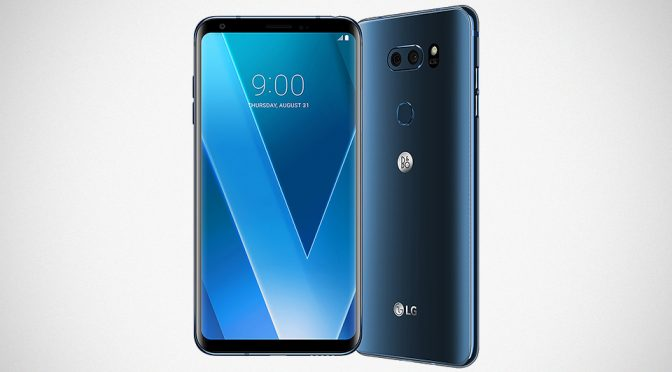 LG V30 Android Smartphone Unveiled at IFA 2017
