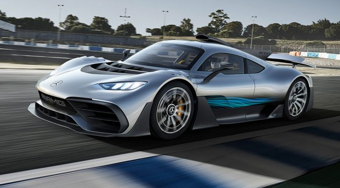 Mercedes-AMG Project ONE Is Basically A Formula 1 Car In A Road Car Shell
