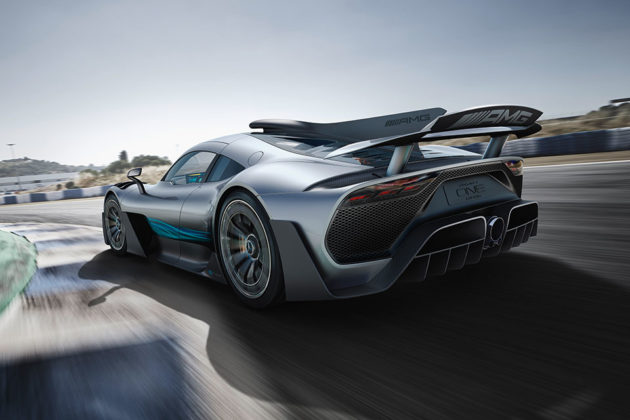 Mercedes-AMG Project ONE Hybrid Supercar