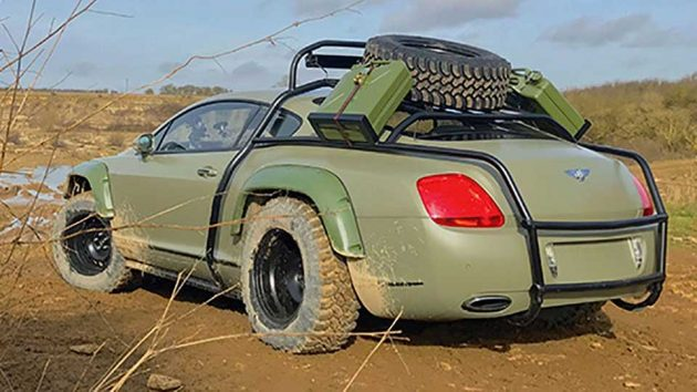 Nat Geo Supercar Megabuild Bentley Continental GT