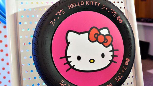 Nexen Tire x Hello Kitty Automobile Tires