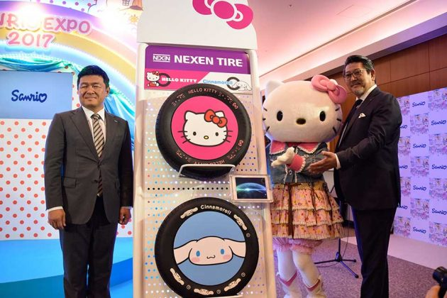Nexen Tire x Hello Kitty Automobile Tires