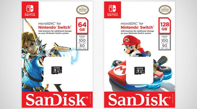 Nintendo x Western Digital SanDisk microSDXC for Nintendo Switch