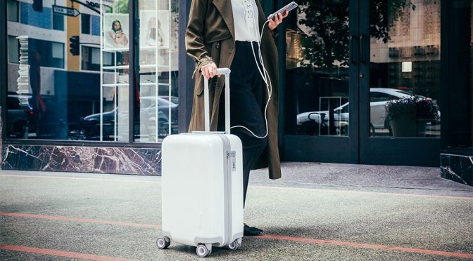 Incase's First Connected Suitcase Is Sleek, Minimalist And USB-C Equipped