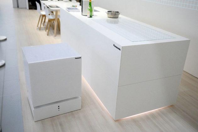 Panasonic Self-driving Refrigerator