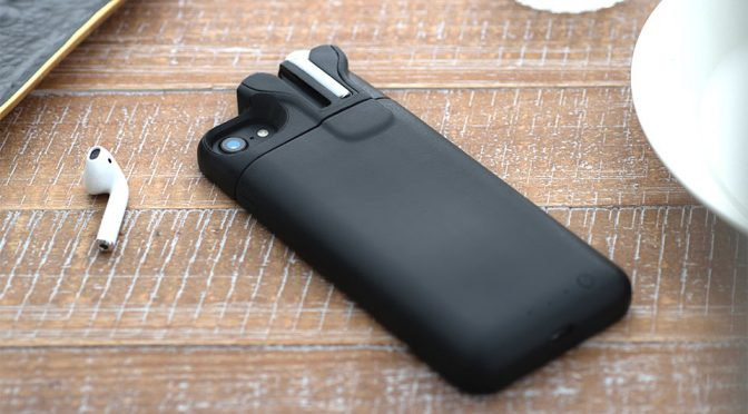 AirPods Charging iPhone Battery Case Is As Clever As It Is Weird. It Really Is