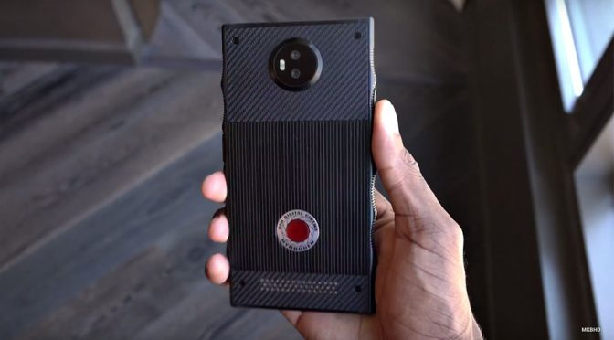 RED Hydrogen One Holographic Phone Display Tech