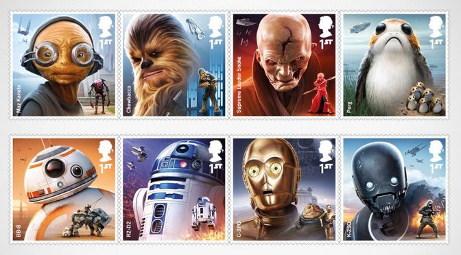 Royal Mail Unveiled New <em>Star Wars</em> Stamps Ahead Of The <em>The Last Jedi</em>