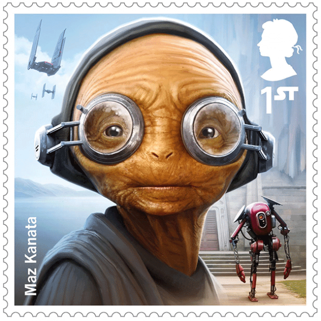 Royal Mail's Star Wars Stamp Collection 2017