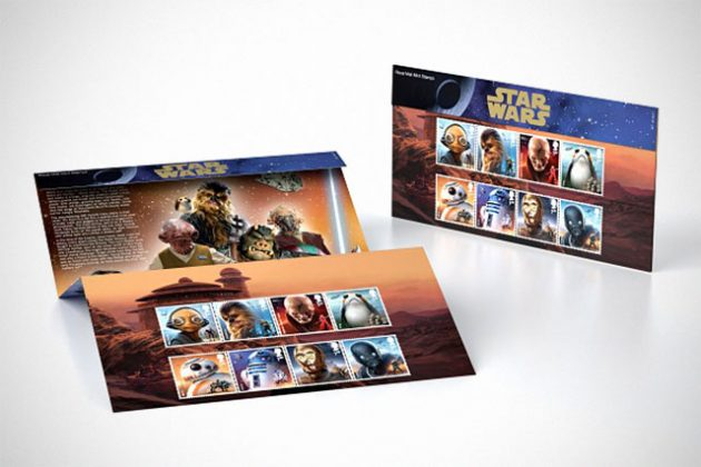 Royal Mail Star Wars Stamp Collection Presentation Pack