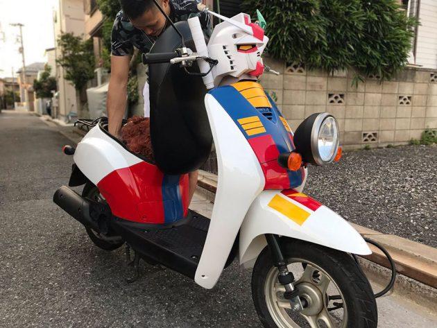 Ryo Inoue Custom Gundam Scooter