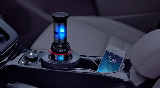 Take Your Smartphone Charging To Warp Speed With The <em>Star Trek: The Next Generation</em> Warp Core Usb Car Charger