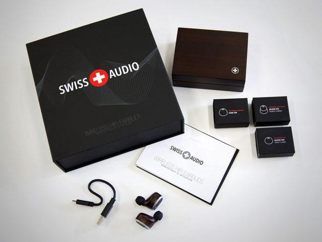 Swiss Audio Personalized HiFi Wireless Earbuds