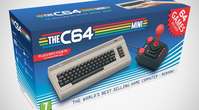 Oh, Look. Commodore 64 Is Making A Comeback As A Mini Game Console