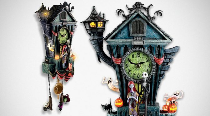 <em>The Nightmare Before Christmas</em> Cuckoo Clock Is One For The Halloween