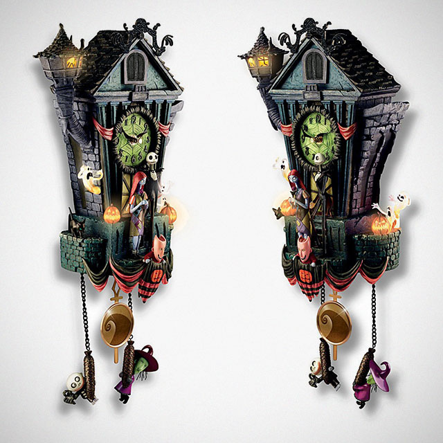The Nightmare Before Christmas Cuckoo Clock Is One For The ...