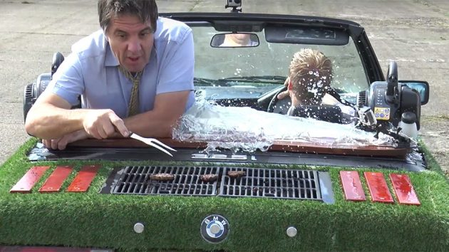 The Spa Car Drivable Hot Tub by Colin Furze