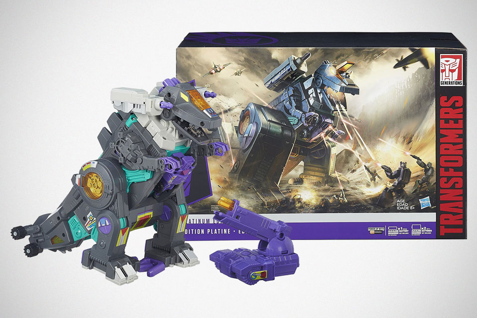 Transformers For Sale >> Hasbro Transformers Platinum Edition Trypticon On Sale For