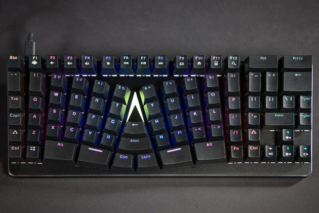 X-Bows Backlit Mechanical Ergonomic Keyboard