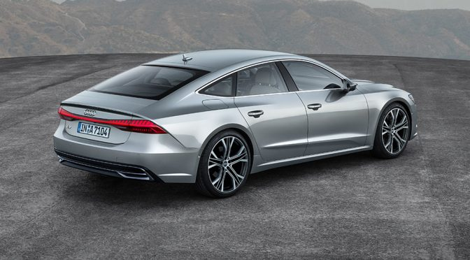 Audi's New A7 Sportback Has Mild Hybrid System Across The Engine Range