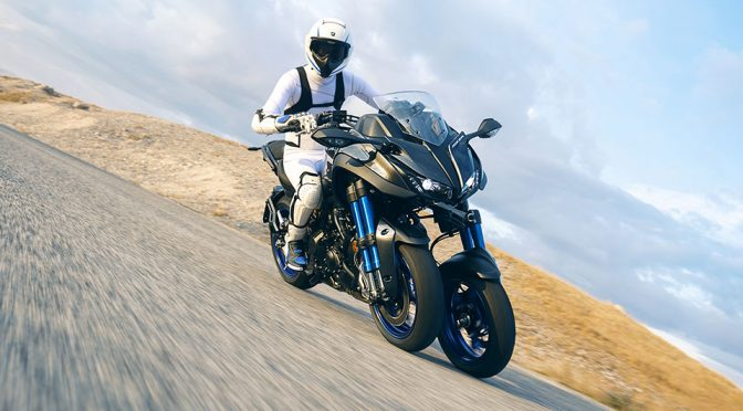 Yamaha's New NIKEN Leaning Multi-Wheeler Is A Corner-loving Bike