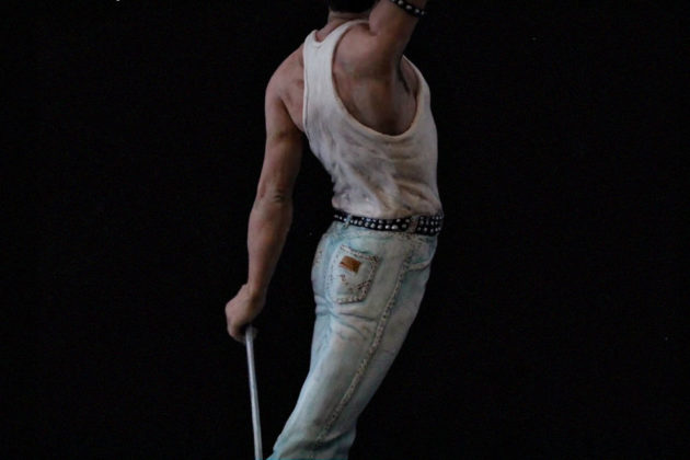7.5-inch Freddie Mercury Sculpture by Juliana LePine