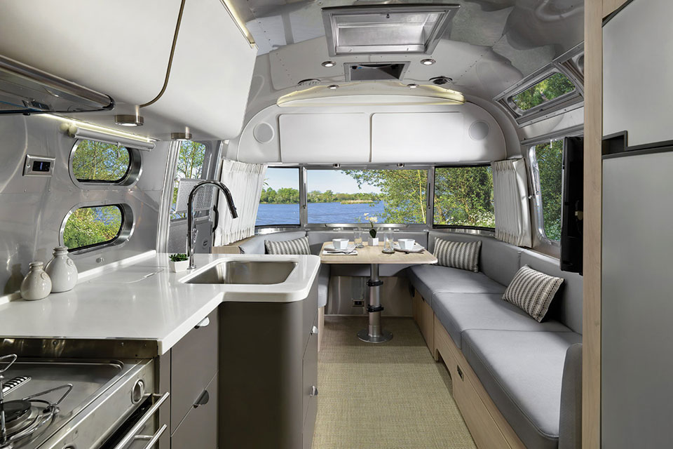 Airstream Globetrotter Is An American Icon With An European