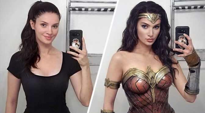 This Cosplayer Totally Nailed The Gal Gadot <em>Wonder Woman</em> Look!