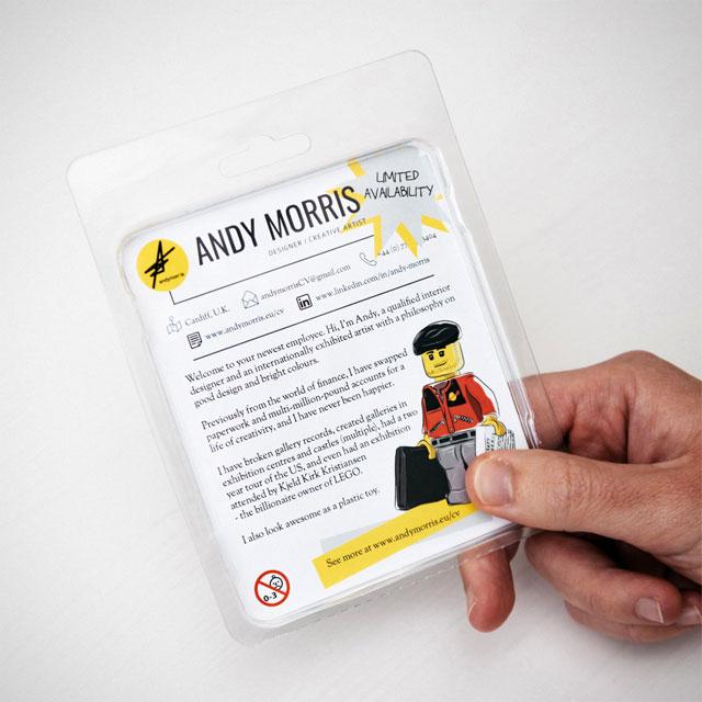 Andy Morris' LEGO Minifigure Curriculum Vitae
