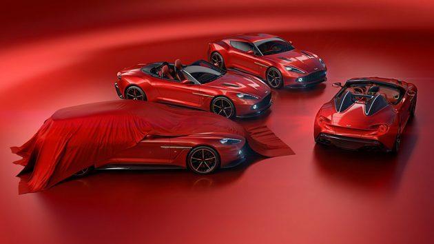 Aston Martin x Zagato Family